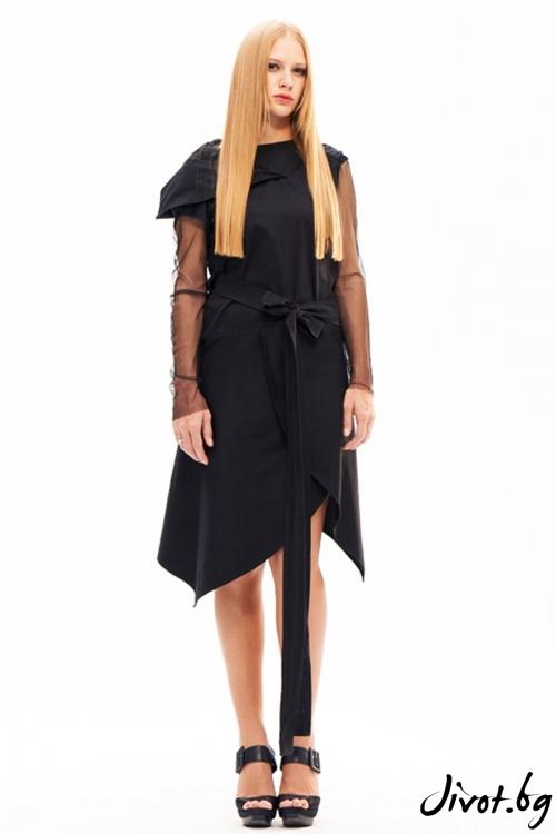 Деконструктивно асиметрично сако/рокля / Maria Queen Maria