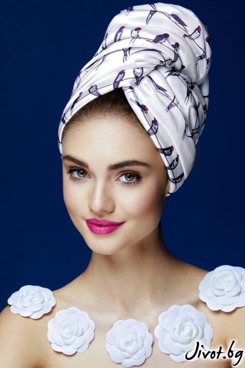 Кърпа за коса BIRDIE / AGLIQUE