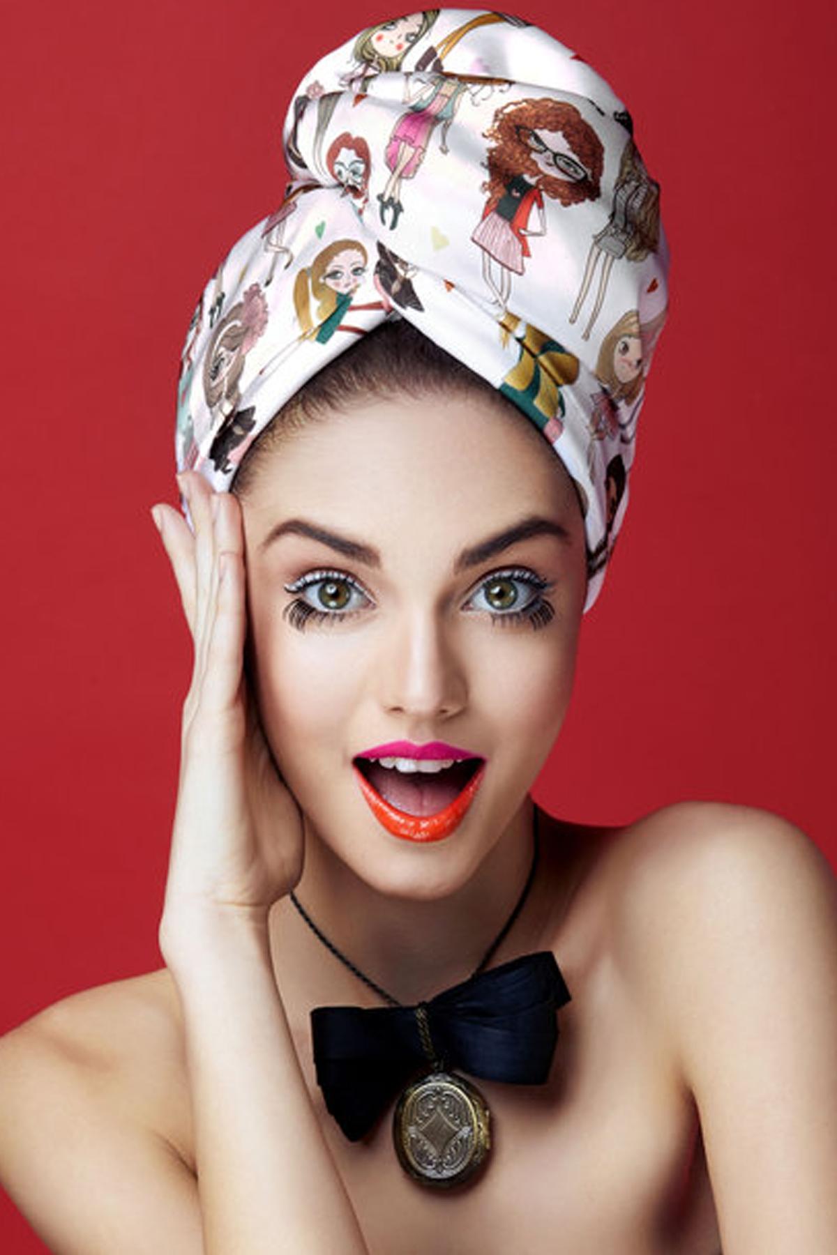 Кърпа за коса MADEMOISELLE / AGLIQUE