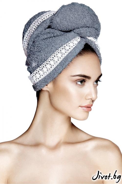 Кърпа за коса GRACE GREY / AGLIQUE