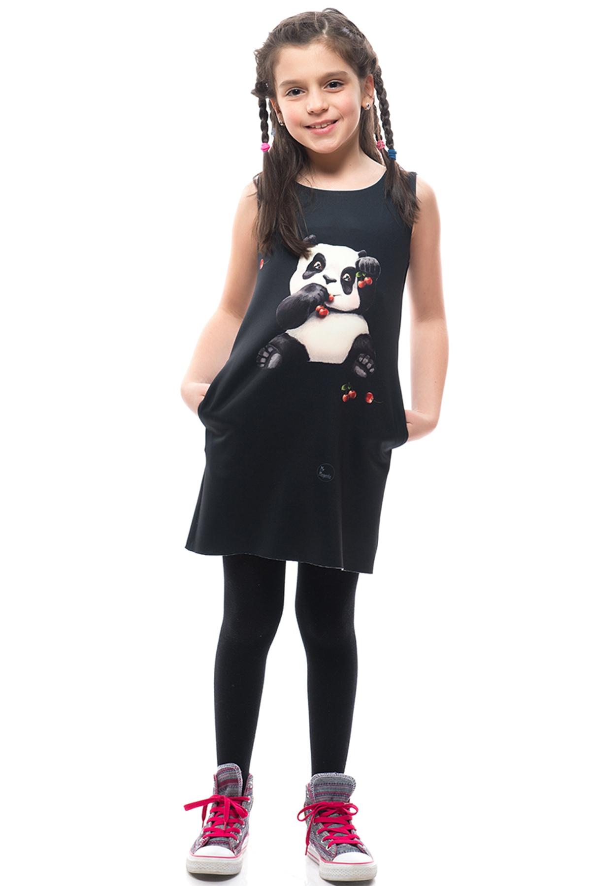 Детска рокля Панда / MyMagenta