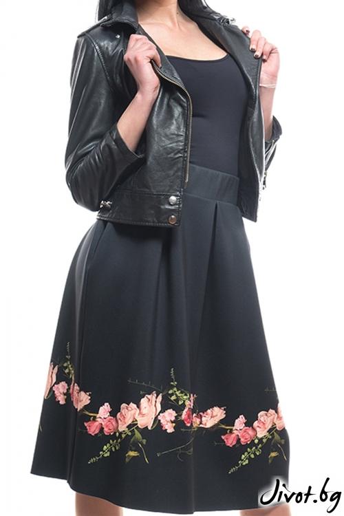 Красива пола с рози / MyMagenta