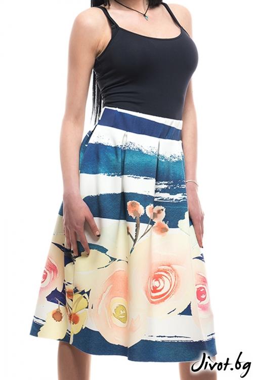 Красива пола с цветя / MyMagenta