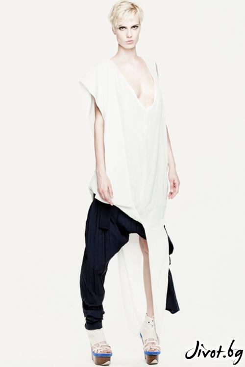 Син памучен панталон / Maria Queen Maria