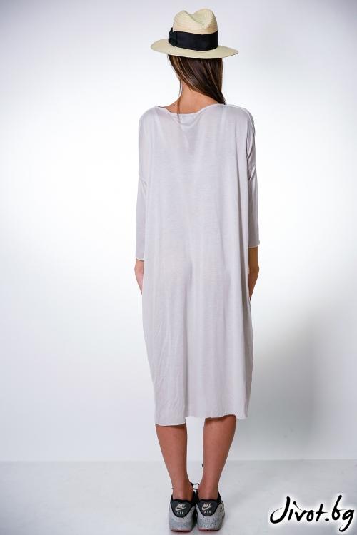 Дамска сива рокля / M2V