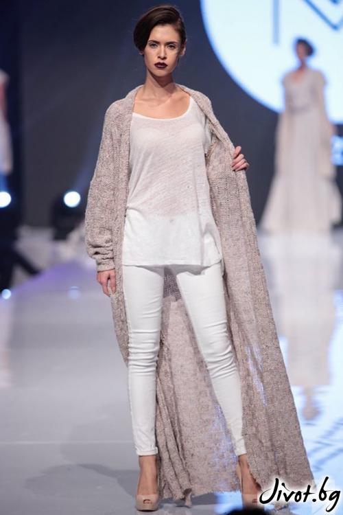 Красива плетена дамска жилетка / M2V