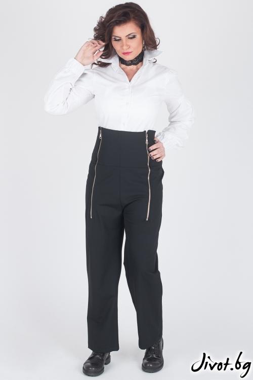 Уникален черен дамски панталон / Модна История