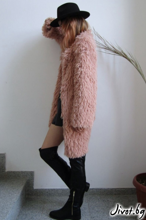 Меко и стилно палто / FABRA MODA STUDIO