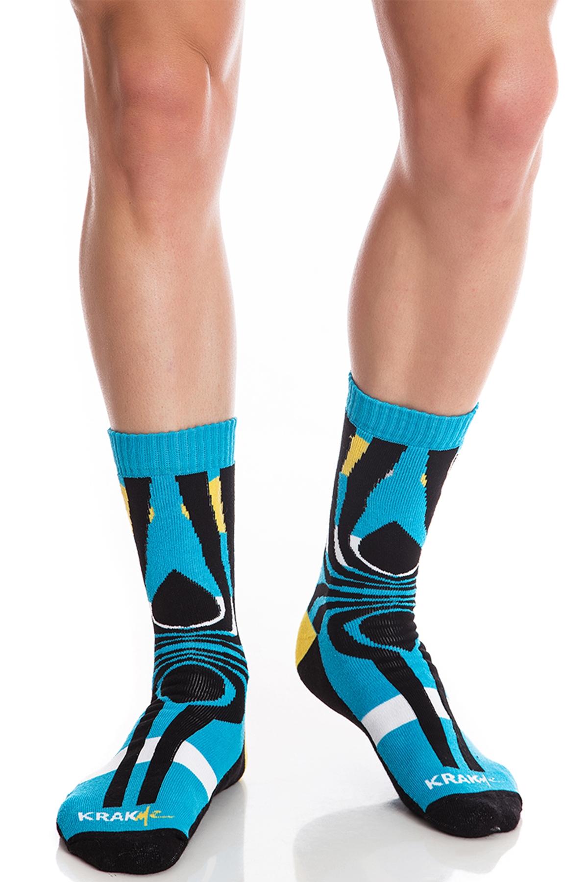 Мъжки чорапи Tequila Sunrise Blue / Krak me