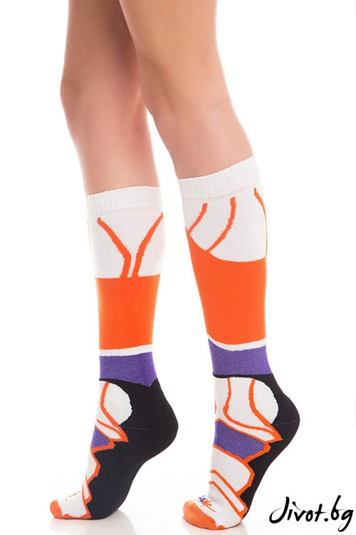 Дамски чорапи Havana Purple / Krak me