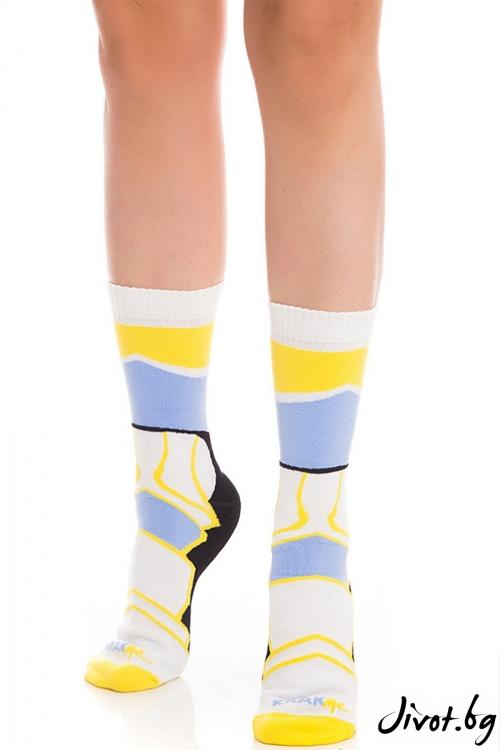 Къси цветни дамски чорапи Havana Short / Krak me