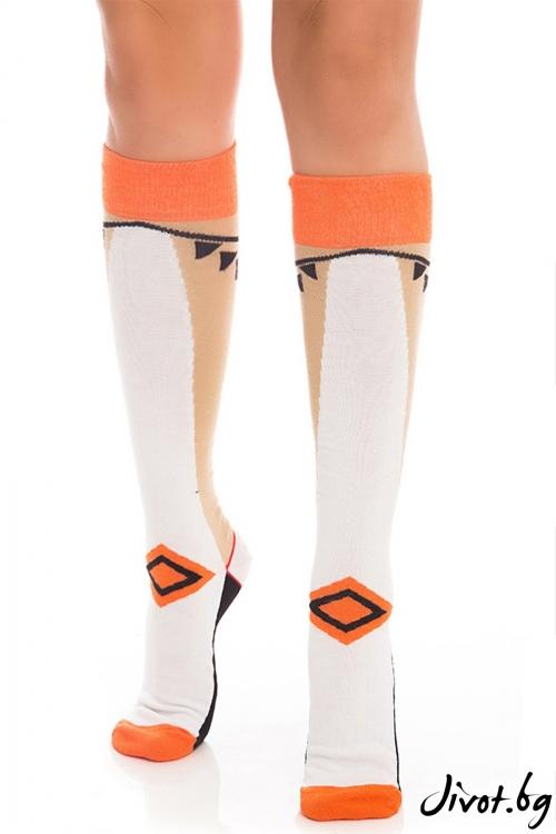 Три-четвърти дамски чорапи Elegant Legend / Krak me