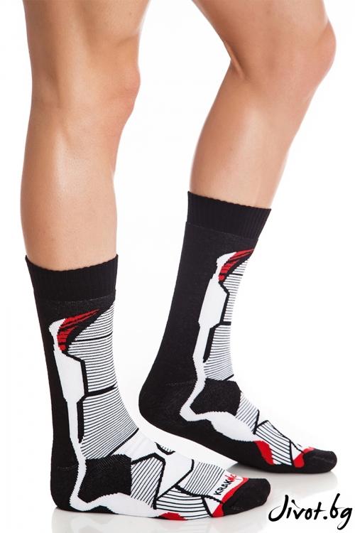 Мъжки чорапи Nindja Strike Short / Krak me