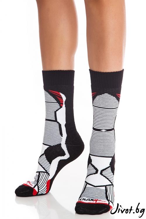 Къси дамски чорапи Nindja Strike Short / Krak me