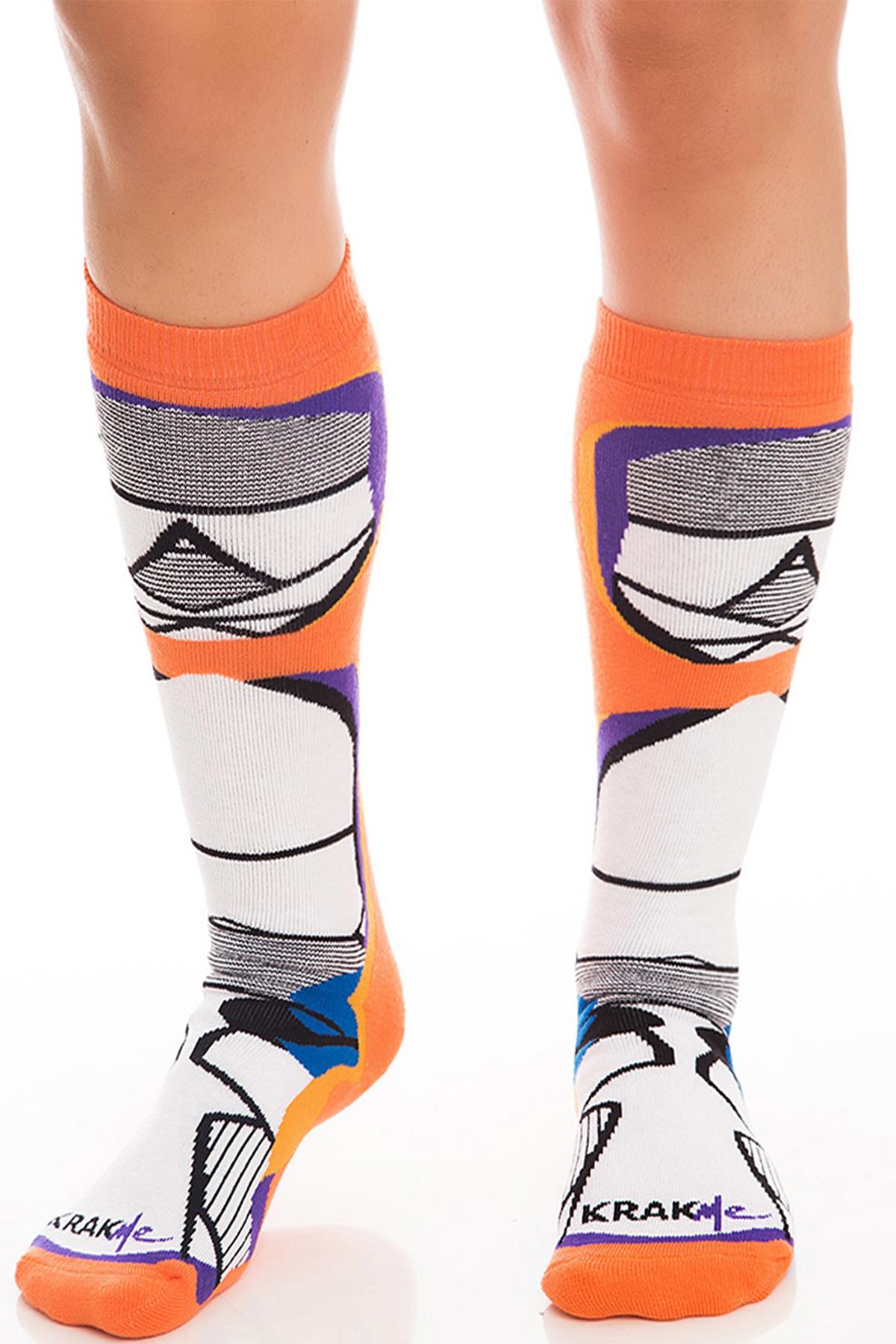 Мъжки чорапи Orange Striper / Krak me