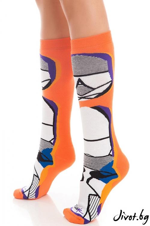 Дамски чорапи Orange Striper / Krak me