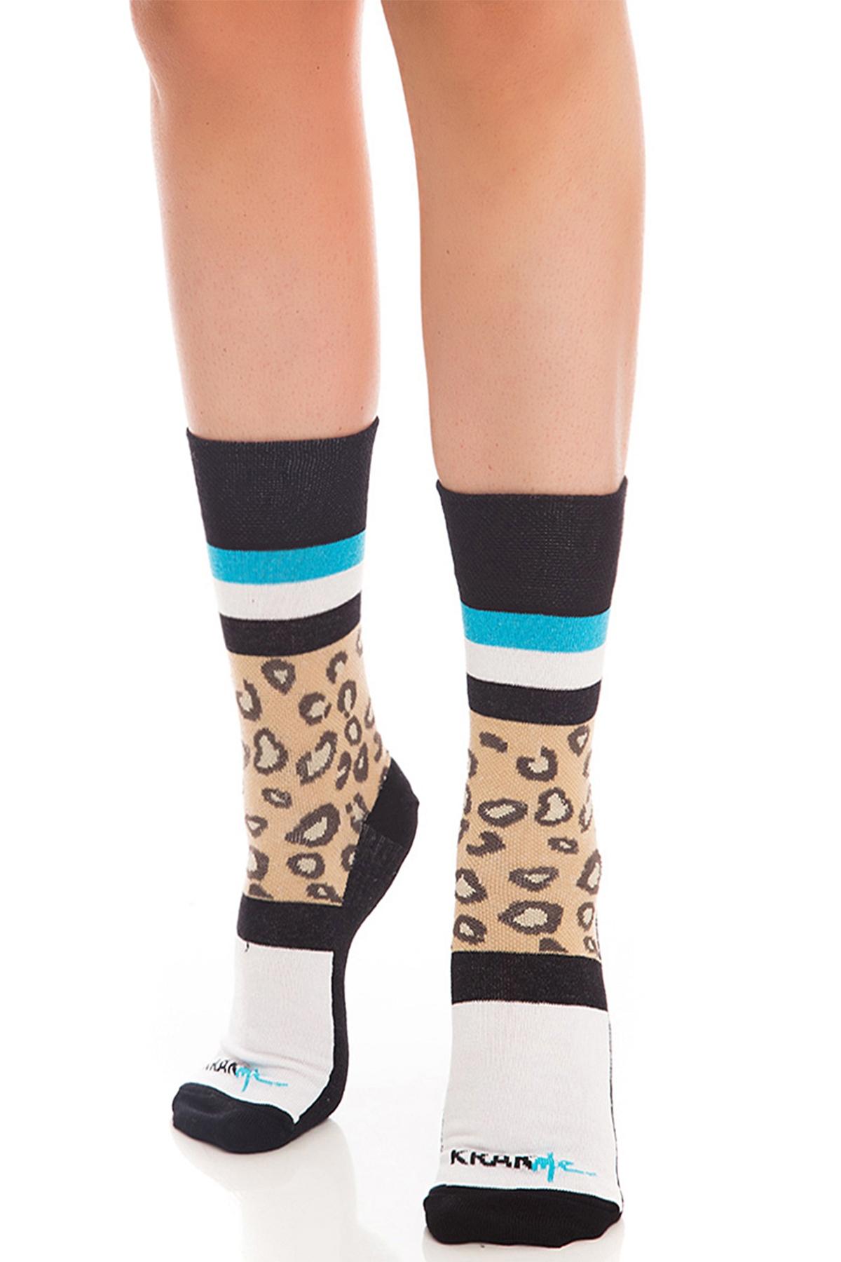 Дамски чорапи The Leo Ankle Short / Krak me