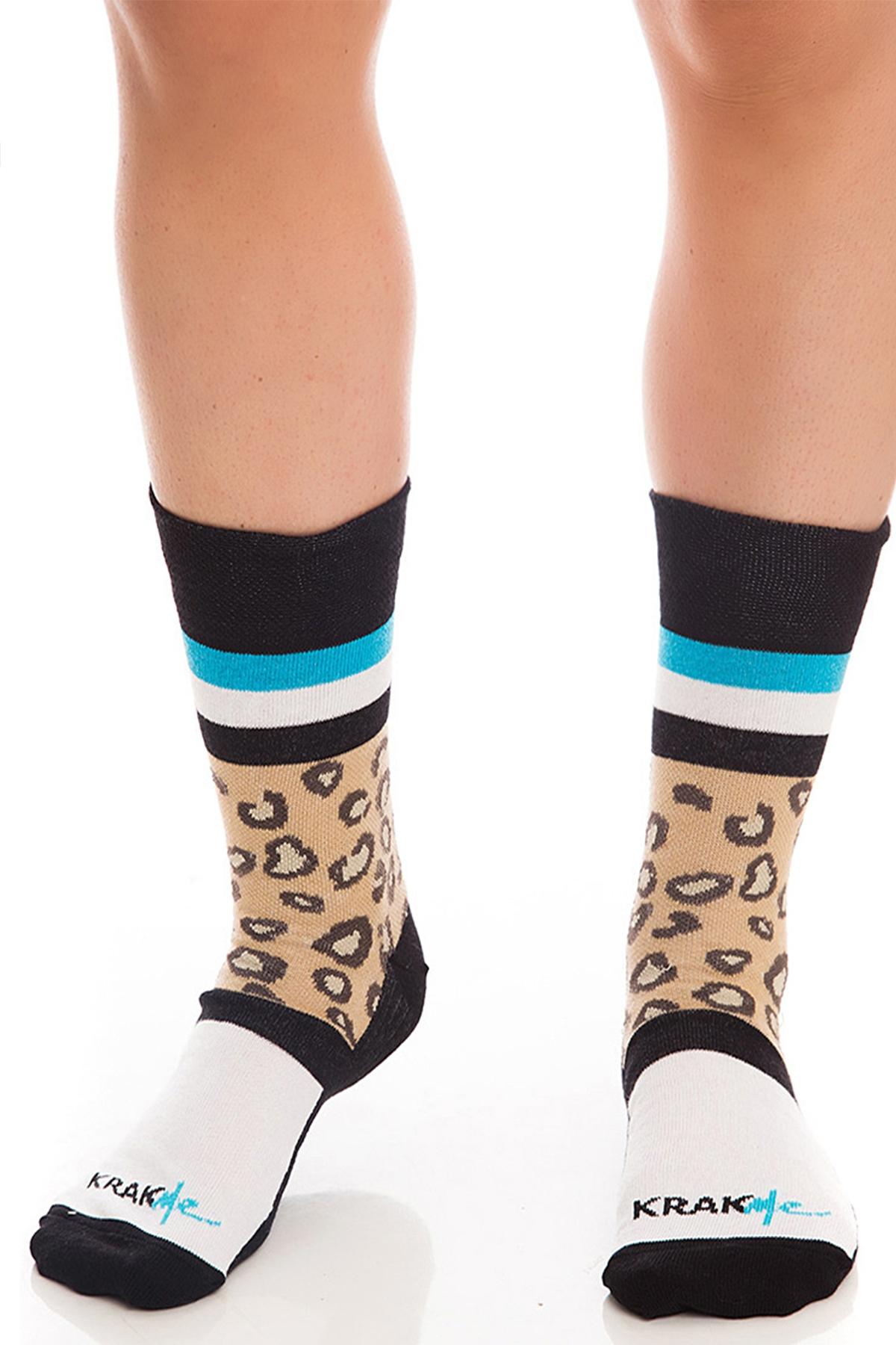 Мъжки чорапи The Leo Ankle Short / Krak me