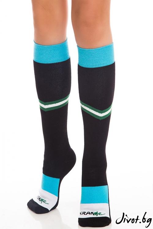 Три-четвърти дамски чорапи M Power / Krak me