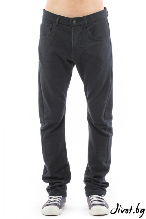 Черен мъжки панталон / TONI DARK