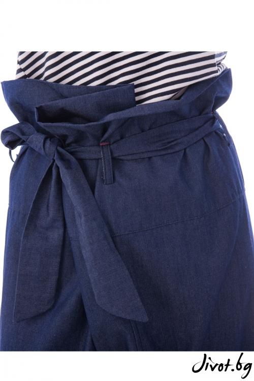 Син дамски панталон / Vivastela