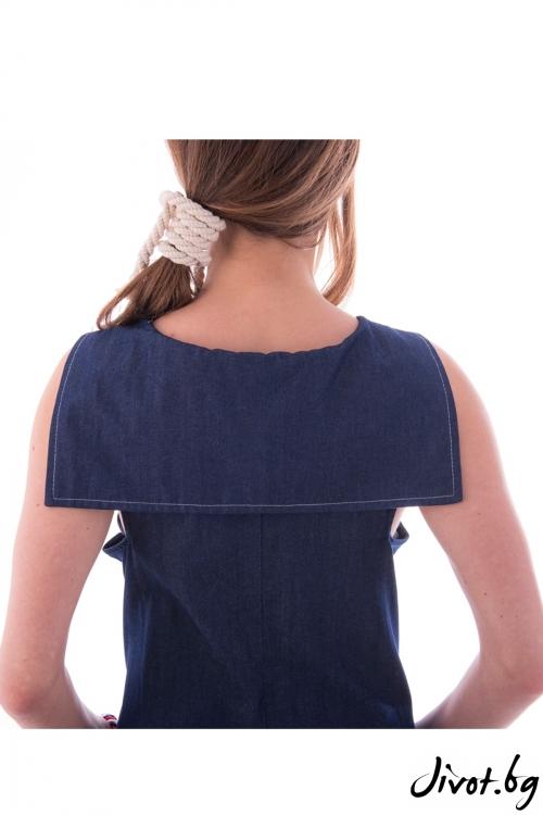 """Синя рокля """"Круиз"""" / Vivastela"""