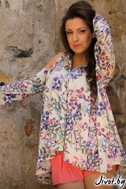 Дамска риза с дълъг ръкав / Alenia