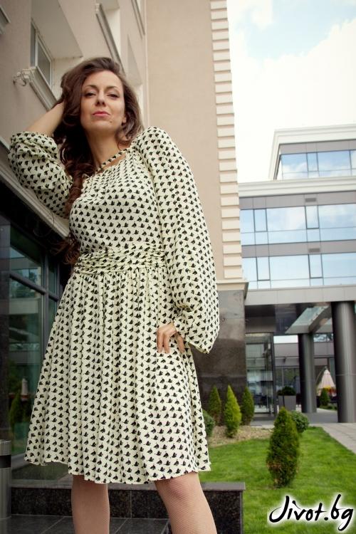 Уникална дамска рокля / Alenia