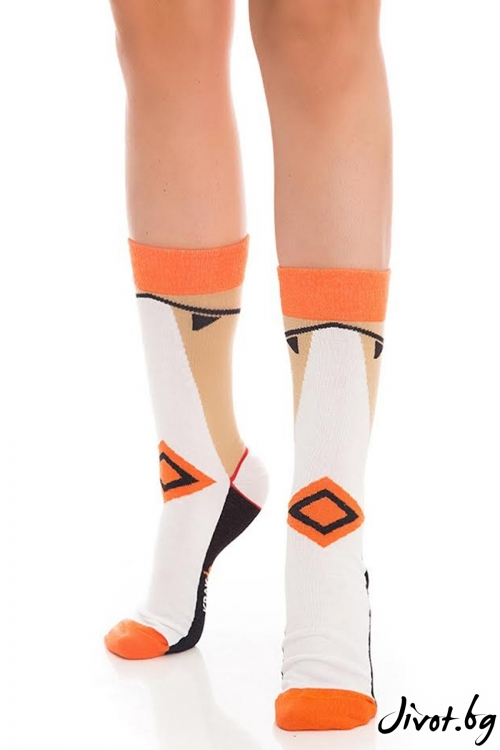 Дамски чорапи Elegand Legend Short / Krak me