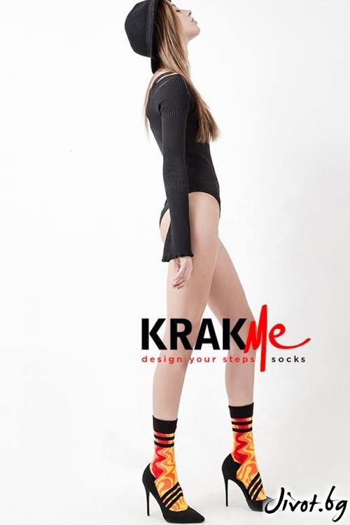 Дамски чорапи Fire follow me / Krak me