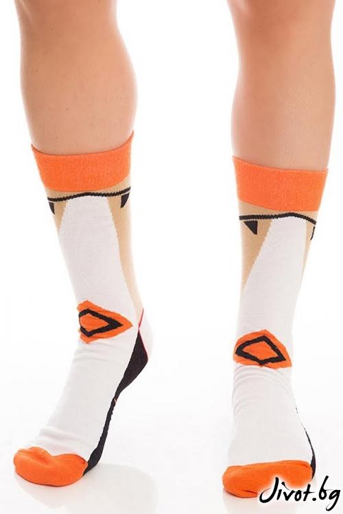 Цветни мъжки къси чорапи Elegand Legend Short / Krak me