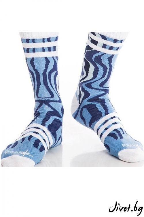 Мъжки къси чорапи Fire follow me / Krak me