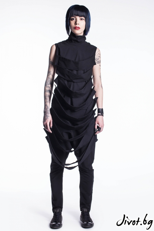Женски черни панталони / Maria Queen Maria