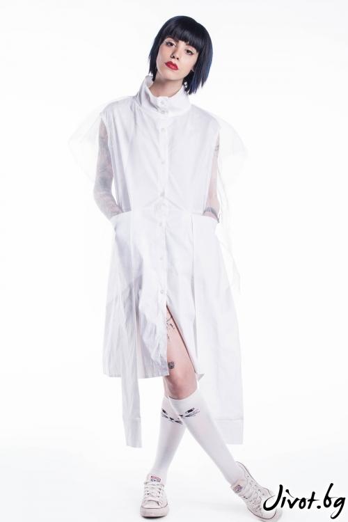 Бяла женска туника / Maria Queen Maria