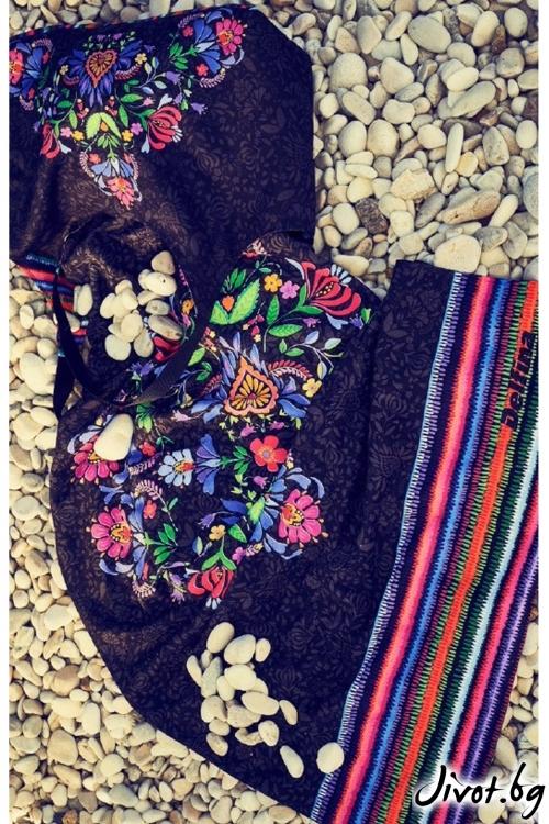Дамска плажна чанта
