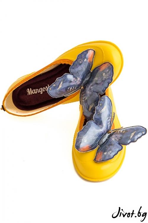 "Елегантни дамски мангоши ""Ярки пеперуди"" / KIPRA"