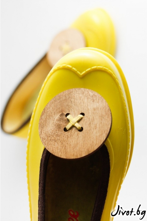 """Красиви жълти мангоши """"Копче"""" / KIPRA"""