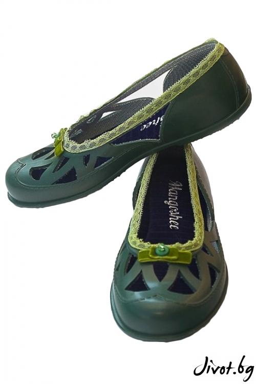 """Тъмно зелени мангоши """"Зелена трева"""" / KIPRA"""