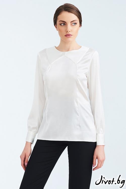 Бяла копринена риза / Lila Style House