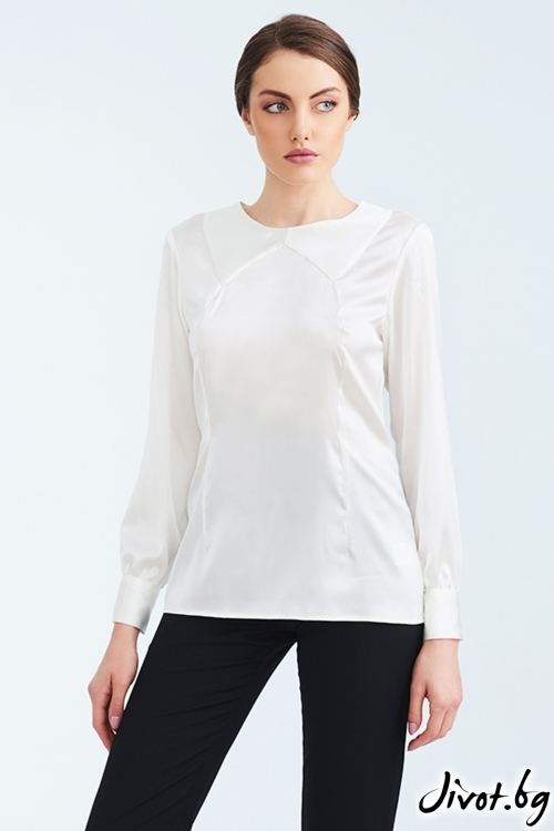 Дамска копринена риза / Lila Style House
