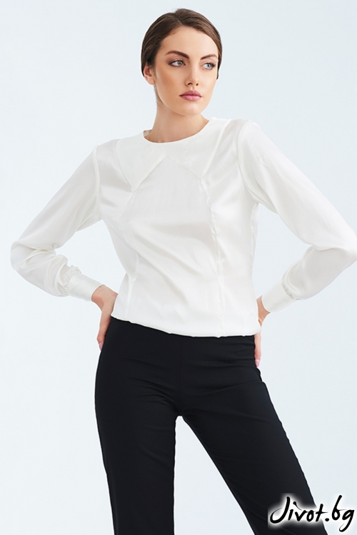 Черен прав панталон / Lila Style House