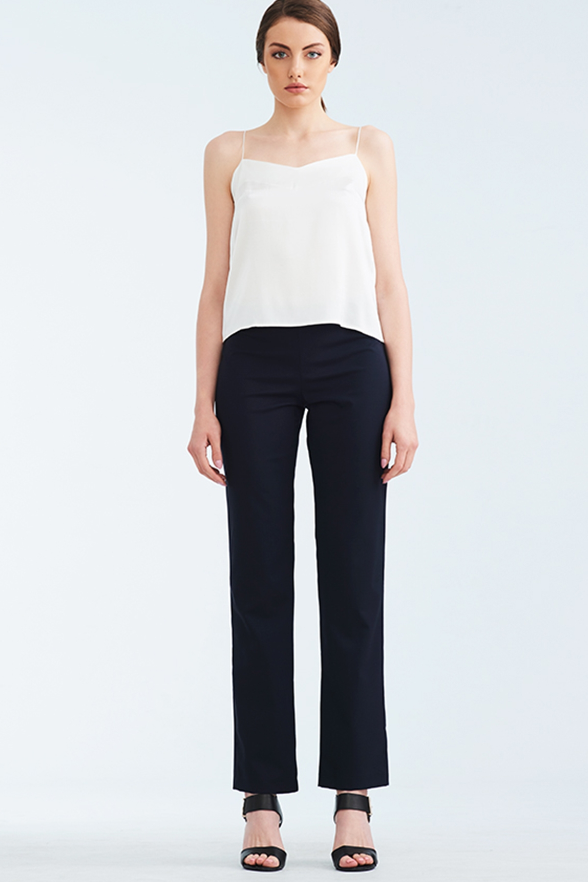 Тъмно син прав панталон / Lila Style House