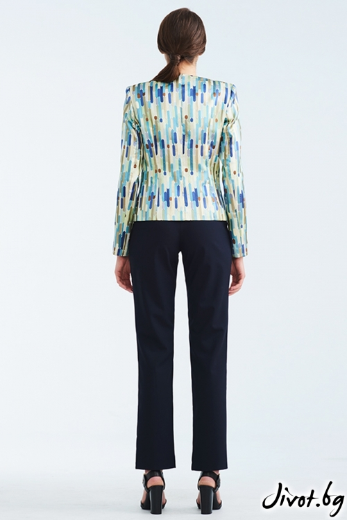 Късо сако от жакард / Lila Style House