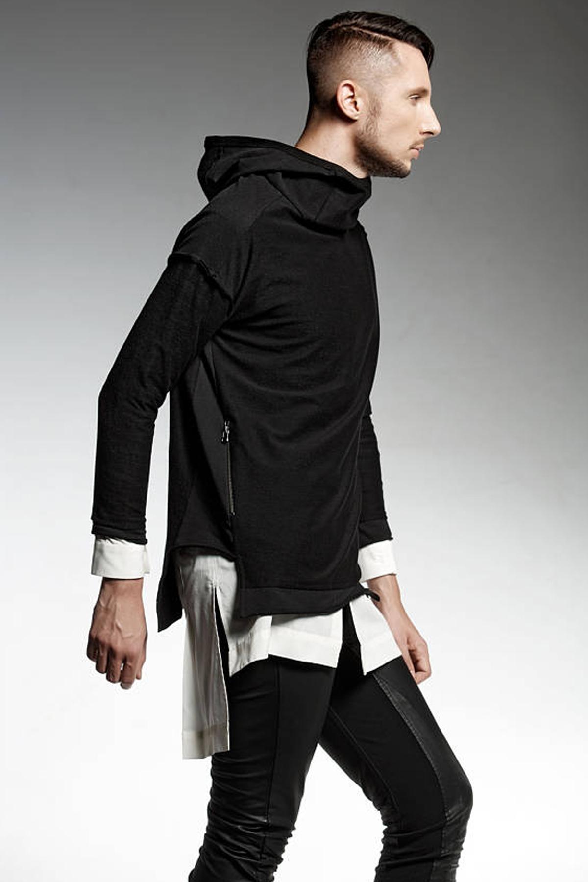 Черна мъжка блуза / PENDARI