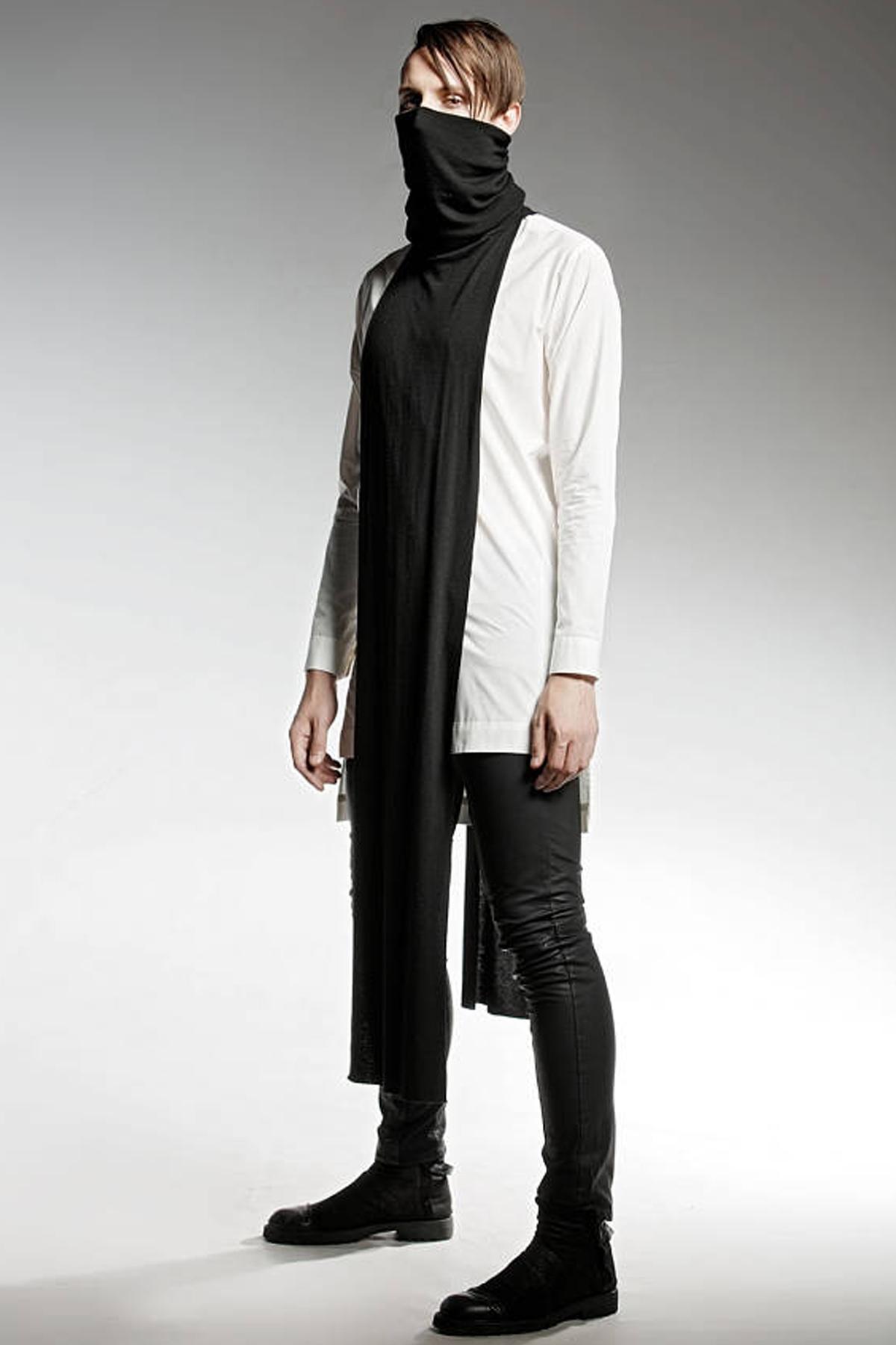 Черен мъжки шал / PENDARI