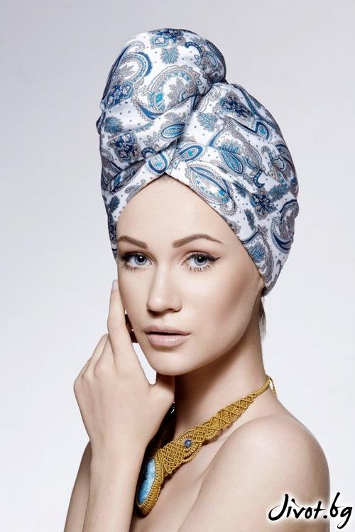 Кърпа за коса Amalia / AGLIQUE