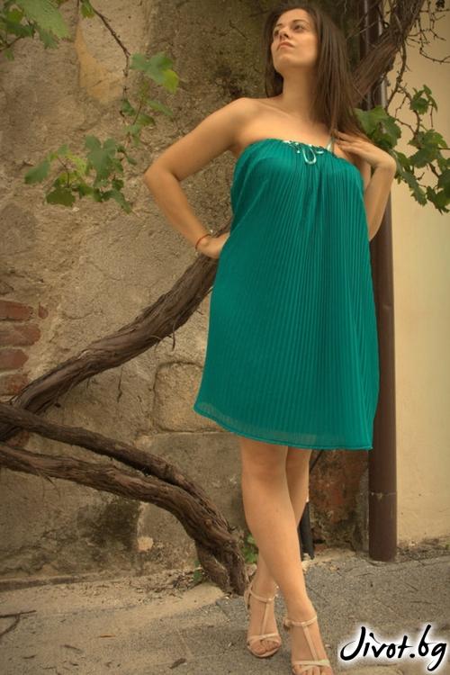 Тюркоазена рокля солей / ALENIA