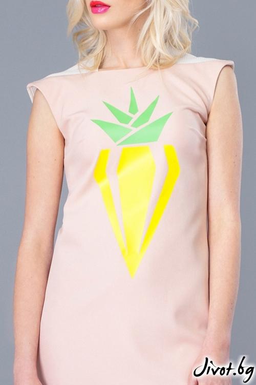 """Дамска рокля """"Diamond pineapple"""" / Jar & Jam"""