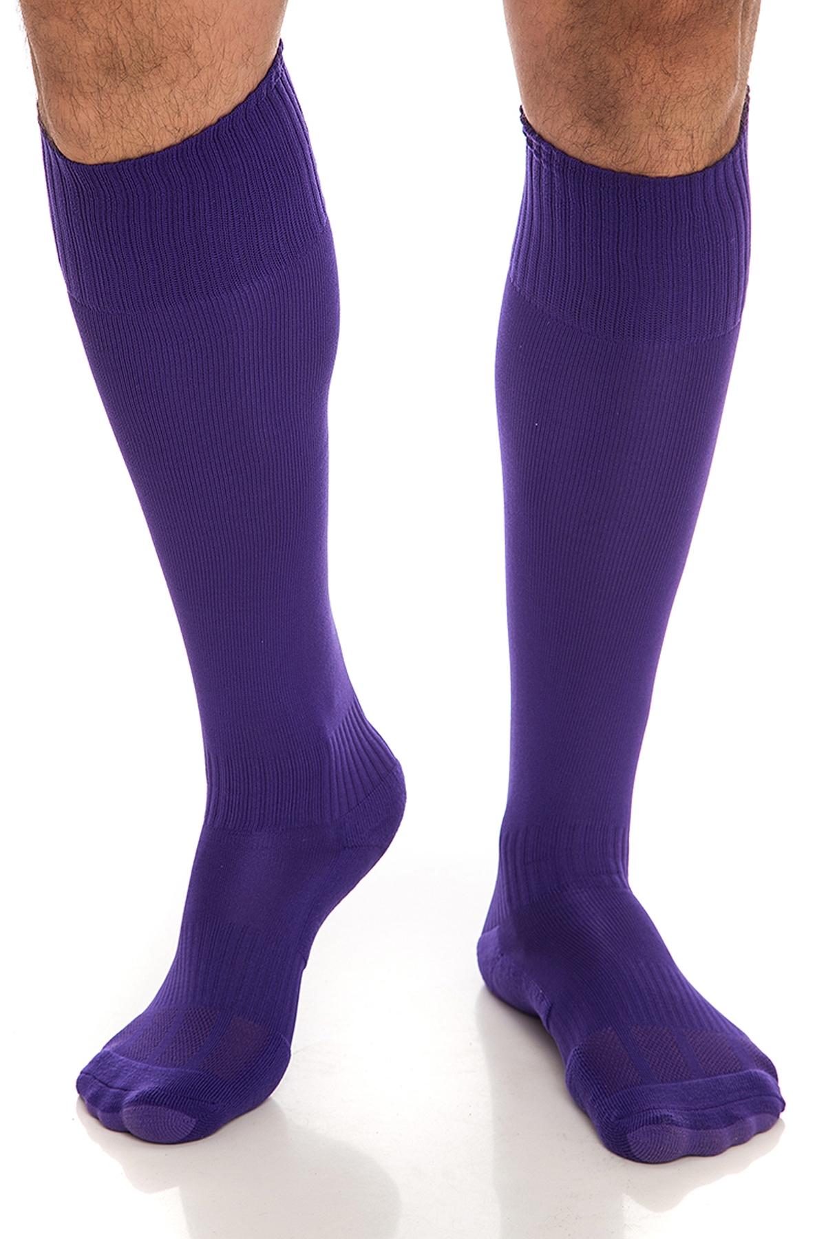 Лилави мъжки чорапи / Krak me