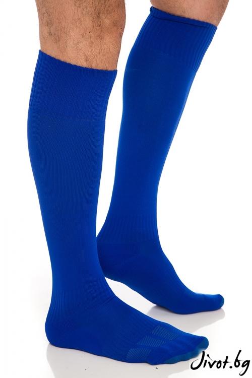 Дълги мъжки чорапи FootBall Blue / Krak me